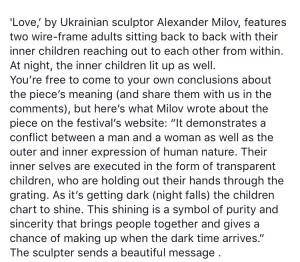 Innerlijk Kind, Love, Alexander Milov toelichting